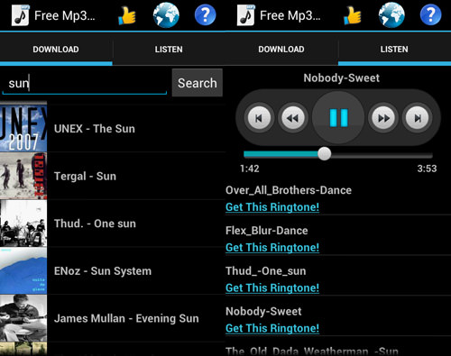 Telecharger music gratuite android